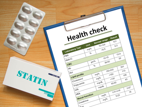 statins and swelling episodes